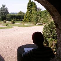 RDV aux jardins - Parc Jane Limousin - Châteauneuf-la-Forêt - Avec les scolaires (reconstitution du jardin à la française) - 2012
