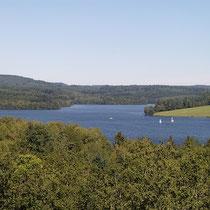 Lac de Vassivière - vue en provenance d'Auphelle - Peyrat-le-Château