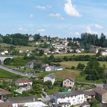 Viaduc portant le voie ferrée - Saint-Léonard-de-Noblat