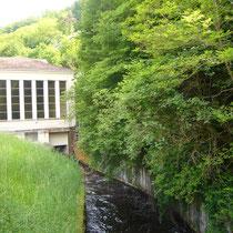 L'usine hydroélectrique de Bussy alimentait les 4 voies du réseau de tramway départemental - Bussy - Eymoutiers