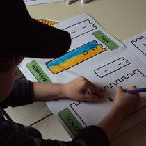 Atelier château : château à colorier, découper et assembler pour les plus petits