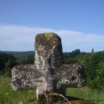 Croix de chemin - Le Mazeau - Rempnat