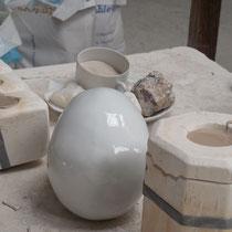 Porcelaine Carpenet : étape du moulage - Route de Bujaleuf - Saint-Léonard-de-Noblat