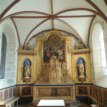 Retable (XVIIe - XVIIIe siècle, cl. MH) - Eglise de Saint-Martin-Terressus