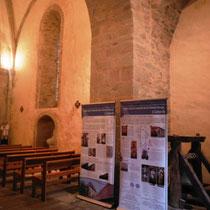 Panneaux de signalétique patrimoniale - Eglise de Linards