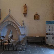 Panneau de signalétique patrimoniale - Eglise de Royères