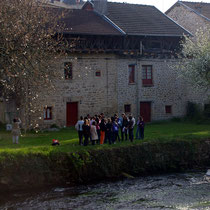 Lecture architecturale d'une ancienne maison de tanneurs, pour comprendre l'organisation de l'activité qui a fait la richesse de la ville au XVIIe siècle - Eymoutiers