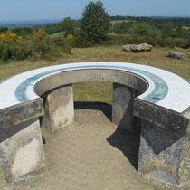 Balade Zoom paysage au Mont Gargan (Saint-Gilles-les-Forêts) : lecture de paysage à l'aide de la table d'orientation