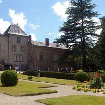 Demeure et jardin à la française - Parc Jane Limousin - Châteauneuf-la-Forêt