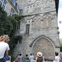Lecture architecturale d'une autre maison médiévale - Saint-Léonard-de-Noblat