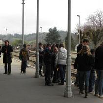 Jeu de piste Sur les traces de Paroutaud et du chemin de fer à Saint-Léonard-de-Noblat : il démarre à la gare
