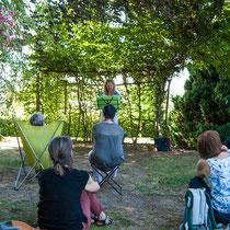 RDV aux jardins - Parc Jane Limousin - Châteauneuf-la-Forêt - Visite-lecture - 2016