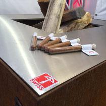GEDO'16 feuerwürfel cubo mit o-teppanyaki - einzigartig von stahl-art Rufer