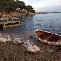 ...ein Fischboot floristisch bearbeitet