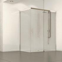 Mampara de ducha Glassinox modelo Pacífico
