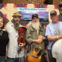 Benders and friends at Surry Co. Fiddlers Convention
