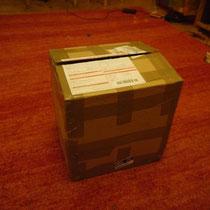 Es wird spannend, das Paket ist schon auf...
