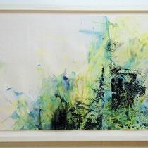 "© Joana Bruessow, Suche -  hunt, 26,5"" x 38,5"", ink on paper, 2012"