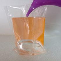 3- Wasser in den Wasserbehälter einfüllen -> 3-Finger hoch