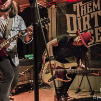 Them Dirty Roses Boogie am 29.03.2018, Kulturrampe, Krefeld