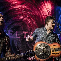 The Delta Saints am 12.07.2016, Kulturrampe, Krefeld