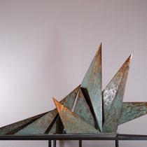 Patrizia Murazzano, Uomo, bronzo, 76x150x60 cm