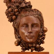 Johannes Genemans, Mangolita. Emozione autunnale, 2012, bronzo, h 40 cm
