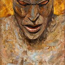 Marino Benigna, Studio figlio della tenebra, 2009, olio su tela, 50x70 cm