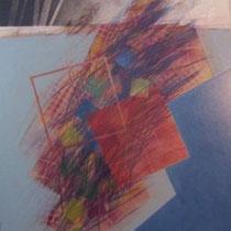 Salvatore Alessi, La trama del tempo, 2009 , tecnica mista, 60x72 cm