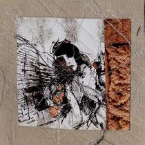 Zane Kokina, Labirint III, 2012, tecnica mista