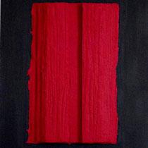 Alessandro Rossi, Fenditura, 2011, 70x100 cm