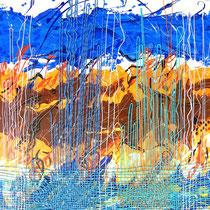 Rosa Spina, Atmosfera, 100 x80 cm