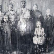 Simone Boscolo, Famiglia di Felice Serafini di Arzignano, tecnica mista su forex