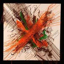 Rosa Spina, Vibrazioni e frequenze, 60x60 cm