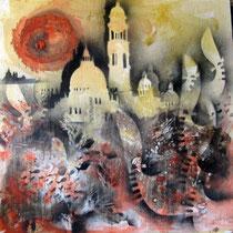 Nadia Ginelli, Venice, 80x80 cm
