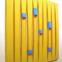 Marco Cressotti, Senza titolo, 2012, tecnica mista, 125x125 cm