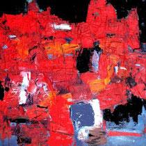Ivo Stazio, Notturno, 2011, olio su tela, 40x50 cm