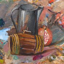 Francesco Maruotti, Vecchi utensili, 2007, 40x50 cm