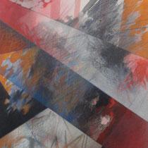 Salvatore Alessi, Nella storia, 2011,  tecnica mista su tela, 50x70 cm