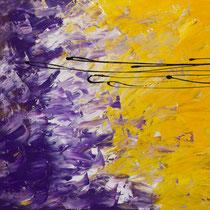 Giuseppe De Michele, Senza titolo 2011, acrili e smalti su tavola, 80x70 cm