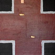 Alessandro Rossi, Intersezione, 2011, 100x100 cm