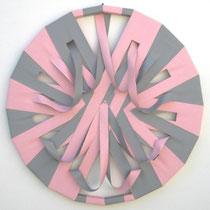 Marco Cressotti, Sedici, 2011, tecnica mista, diam. 90 cm