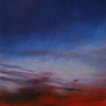Paolo Facchinetti, Nuvole rosse, 2012, olio su tela, 85x113 cm