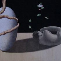 Paolo Rossetto, Sintesi, 60x100 cm