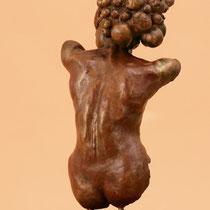 Johannes Genemans, Passionata. Espressione estiva, 2011, bornzo, h 60 cm