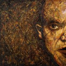 Marino Benigna, Limite I, 2009, olio su tela, 50x50 cm