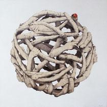 Paolo Rossetto, Gaia, 85x90 cm