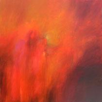 Marco Bozzini, Aggiungendo esca al fuoco, 100x100 cm