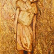 Marino Benigna, Soglia, 2011, olio su tela, 70x120 cm