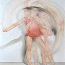 Lisa Sabbadini, Multiple personalità, 2011, olio su tela, 120x90 cm
